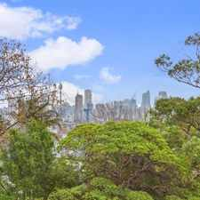 Rental info for LIGHT FILLED TWO BEDROOM + PARKING in the Double Bay area