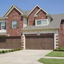 Rental info for 250 Club Circle in the Dallas area