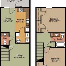 Rental info for 2 bedrooms Townhouse - Each townhome features custom-built cabinets. Parking Available!
