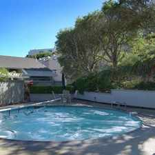 Rental info for End unit townhouse in small exclusive complex of 10 units.