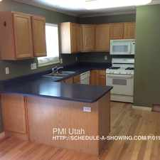Rental info for 1971 West 180 South