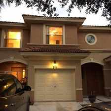 Rental info for BEAUTIFUL 3/2.5 W/GARAGE TOWN HOME IN SEMINOLE LAKE ESTATE IN ROYAL PALM BEACH in the Royal Palm Beach area