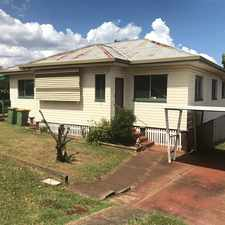Rental info for AFFORDABLE 4 BEDROOM HOME - WHEELCHAIR FRIENDLY! in the Toowoomba area