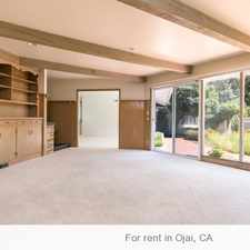 Rental info for Gorgeous Valley estate for lease on famous. 2 Car Garage!