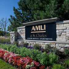 Rental info for AMLI at St Charles