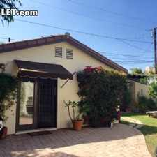 Rental info for $3500 1 bedroom House in West Los Angeles Beverly Hills in the Los Angeles area
