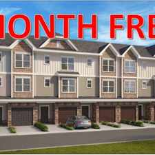 "Rental info for 1st Month Free ""New"" 3/4 bed 3.5 bath town homes. North End Commons, only 5 minutes from down town Charlotte in the Nevin Community area"
