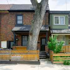 Rental info for 69 Palmerston Avenue #UPPER in the Trinity-Bellwoods area