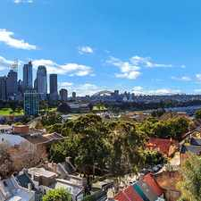 Rental info for Unfurnished one bedroom apartment with Harbour Bridge + Opera House views