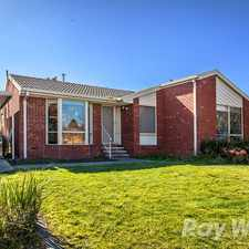 Rental info for Well presented three bedroom home in the Melbourne area