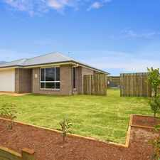 Rental info for COMFORTABLE AND MODERN WITH SPARKLING INGROUND POOL - SURE TO GO QUICKLY, ACT NOW! in the Toowoomba area