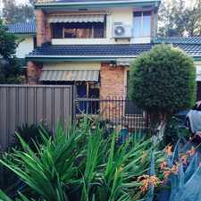 Rental info for NEATLY PRESENTED in the Macquarie Fields area