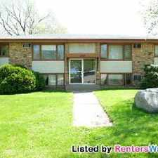Rental info for 2 Bedroom Apartment W/parking And Ac in the Fridley area