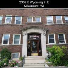 Rental info for 2302 East Wyoming Place in the Milwaukee area