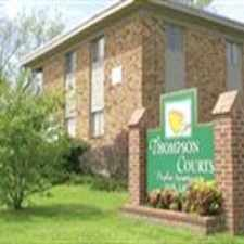Rental info for Thompson Courts