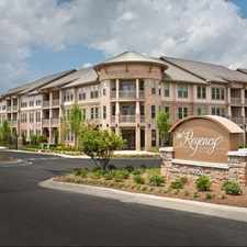Rental info for The Regency at Johns Creek Walk in the Johns Creek area