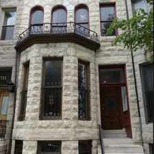 Rental info for 1709 Saint Paul Street in the Charles North area