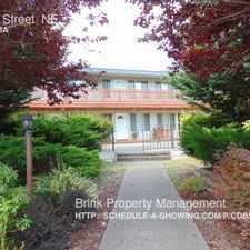 Rental info for 717 A Street NE