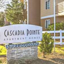 Rental info for Cascadia Pointe Apartments in the 98203 area