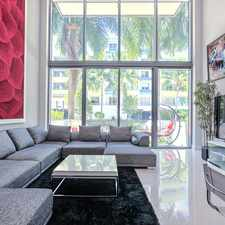 Rental info for 6000 Collins Avenue #134