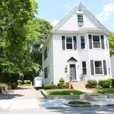 Rental info for Webster St House in the West Newton area