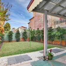 Rental info for Quiet And Sought After Area- PET FRIENDLY PROPERTY in the Dulwich Hill area