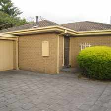 Rental info for NEAT VILLA IN CENTRAL OAKLEIGH AND CLOSE TO ALL AMENITIES