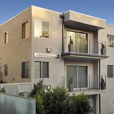 Rental info for 1418 N Poinsettia Place in the Los Angeles area