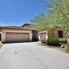 Rental info for Beautiful Home in Estrella Mountain Ranch