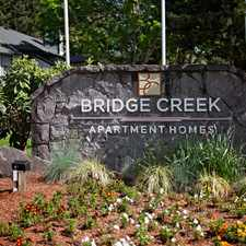 Rental info for Bridge Creek