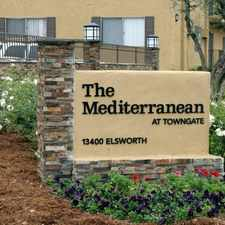 Rental info for Mediterranean at Towngate