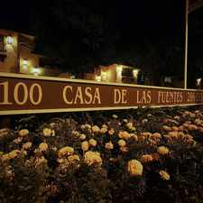 Rental info for Casa De Las Fuentes in the Pasadena area