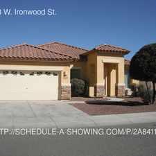 Rental info for 16838 W. Ironwood St.
