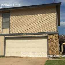 Rental info for 8912 Rockwell Drive in the 73162 area