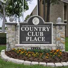 Rental info for Country Club Place