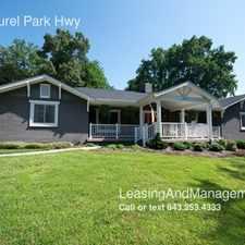 Rental info for 1827 Laurel Park Hwy