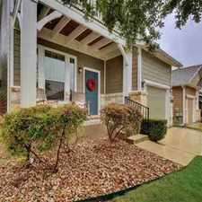Rental info for Beautiful 4/3 home w/over $35k in upgrades: Covered & uncovered back patios in the Austin area