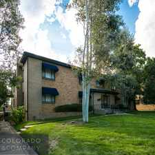 Rental info for 155 Jackson Street #5 in the Cherry Creek area