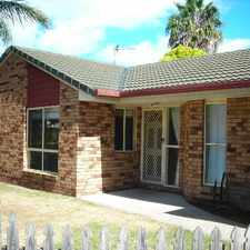 Rental info for GREAT FAMILY HOME OVERLOOKING LAKE - BREAK LEASE in the Urangan area