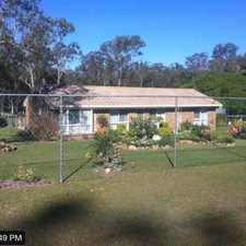 Rental info for Large property with beautifully kept gardens and space for the kids to run in the Greenbank area