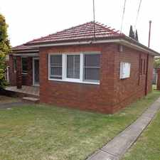 Rental info for 3 bedroom house in a good location