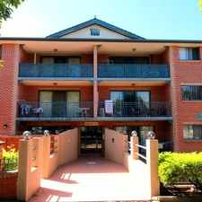 Rental info for Immaculate Top Floor Unit in the Sydney area