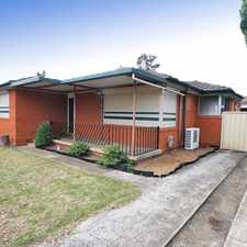 Rental info for CLOSE TO EVERYTHING in the Macquarie Fields area