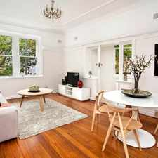 Rental info for Enormous 2 Bedroom Art Deco Apartment + Separate Study + Private Sunroom