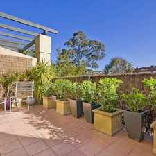 Rental info for Beautiful One Bedroom Unit in the Naremburn area