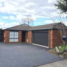 Rental info for Immaculate Four Bedroom Home