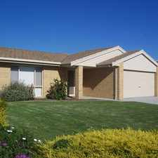 Rental info for BEAUTIFULLY PRESENTED SPACIOUS 4BR FAMILY HOME in the Traralgon area