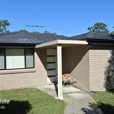 Rental info for BEAUTIFULLY PRESENTED 2 BEDROOM HOME ! in the Lalor Park area