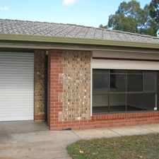 Rental info for TENANT ACCEPTED! NO MORE APPLICATIONS!!! in the Adelaide area