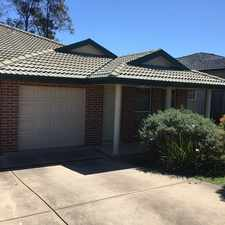 Rental info for Bright and Spacious Duplex in the Hunterview area
